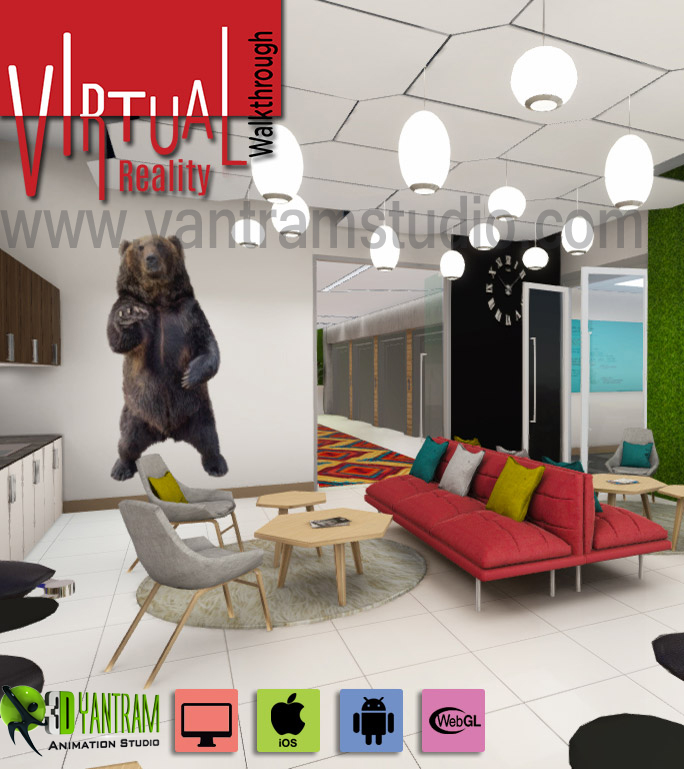 3d Virtual Reality Walkthrough By Yantram virtual reality developer – Florida, USA