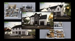 Small house design ideas by Yantram 3d exterior modeling Brussels