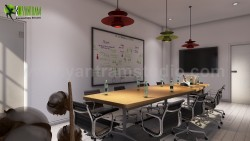 Conference Room Interior Modeling Design Ideas by Yantram 3d animation studio Sydney, Australia.