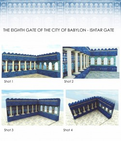 Architectural History I – Ishtar Gate Concept