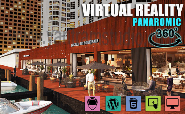 Interactive Panoromic Virtual Tour By Yantram Virtual Reality Developer – London, UK