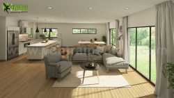 Vintage 3D Exterior & Interior Modeling Ideas by Yantram 3D Interior Designers, New jersey & ...