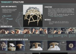 Structure Project I- Tensegrity Structure Poster (A)