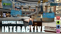 Virtual Reality Shopping Mall App Development by Yantram Immersive Virtual Reality Applications, ...