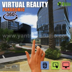 360° Virtual Reality Interactive Panoramic Video Developed by Yantram Real Estate VR App, Califo ...