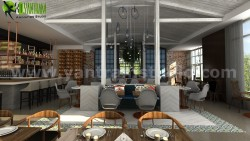 Wonderfull Unique Bar & Restaurant Developed by Yantram 3D Interior Designers, Sydney &#8211 ...