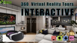 Interactive 360 Virtual Reality Tours Mobile App Developed by Yantram Architectural Design Studi ...