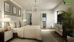 Modern Master Bedroom Ideas Developed By Yantram 3d interior designers, Brussels – Belgium