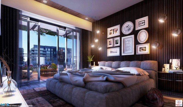Cool Bedroom_Night View