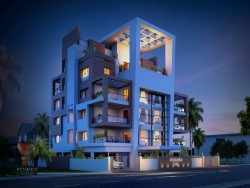 Architectural Apartment Rendering