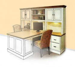 Furniture Design for Small Office Space Layout