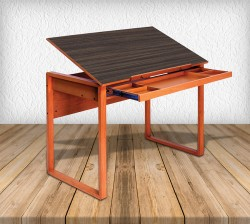 Ponderosa Wooden Drafting Table