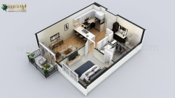 Small Residential Apartment Floor Plan Designer by Architectural Design Studio, Cape Town &#8211 ...