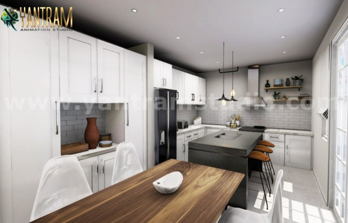 Immersive & Interactive Kitchen real estate vr Apps Development by Virtual Reality Companies ...