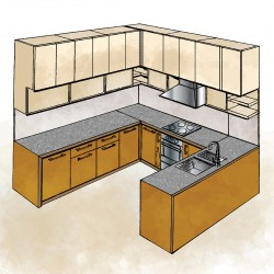 Kitchen Millwork Drawings