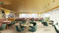 Magnificent Modern Restaurant 3D Interior Designers by Architectural Rendering Company, Paris –  ...