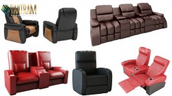Realistic Home Theater 3D Sofa Chair Modeling and Visualization Services by 3d Product animation ...